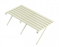 "Slatted staging 18"" x 4ft Ivory"