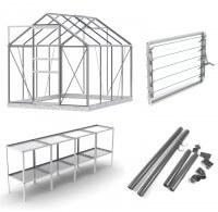 Simplicity Classic 6x8 greenhouse **Professional package**