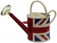 4.5 litre metal traditional Union Jack can