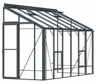 Lean-To 5ft4 x 12ft8 Anthracite