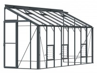 Lean-To 5ft4 x 16ft9 Anthracite