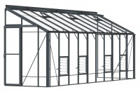 Lean-To 5ft4 x 20ft8 Anthracite