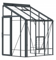 Lean-To 5ft4 x 6ft7 Anthracite
