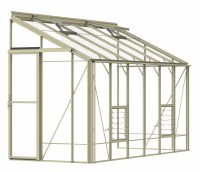 Lean-To 5ft4 x 12ft8 Ivory