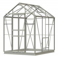 Simplicity Stafford 5x6 Pastel Sage Greenhouse Starter Package