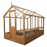 Swallow Kingfisher greenhouse 6ft x 8ft