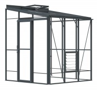 Lean-To 6ft5 x 6ft7 Anthracite