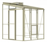 Lean-To 6ft5 x 6ft7 Ivory