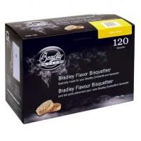 Alder Bisquetts x 120 for the Bradley smoker