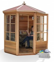 Shipton 6x6 Summerhouse (Felt Roof)