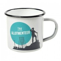 The Allotmenteer Enamel Mug