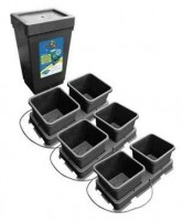 Easy 2 Grow Kit with  6 Pot Kit Black