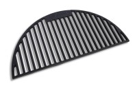 """Half moon cast Iron Grill with holes for 18"""" Kamado"""