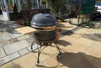 24 Inch Kamado with cart