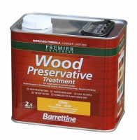 Clear Wood Preservative 2.5 Litres