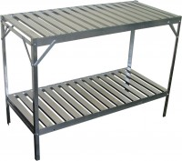 Aluminium slatted 2 Tier 20in wide 47in long