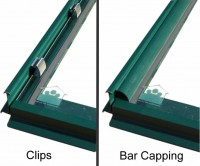 Bar Capping set (Green) for Shrewsbury 16ft
