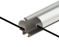 Bar Capping set (White) for Stramshall 12ft