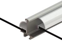 Bar Capping set (White) for Stramshall 4ft
