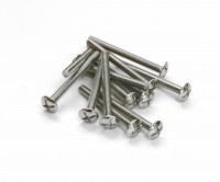 12 x Bolt M6 x 100mm Mush Head- X Slot 02-1553
