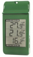 Digital Max/Min thermometer Green- Pack of 10