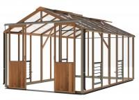 Evolution 8x14 Greenhouse