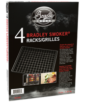 Set of 4 extra racks for the Bradley smoker