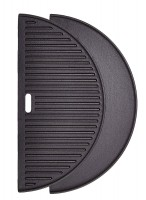 "Cast Iron Half moon reversible griddle for the 24"" Big Joe"