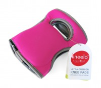 Kneelo ultra cushion knee pads (pair)- Fuchsia