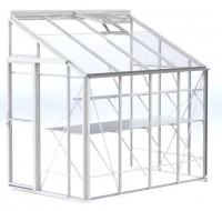 Lean-To 5ft4 x 8ft8 White