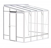 Lean-To 6ft5 x 8ft8 White