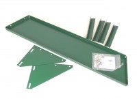 Decagon High level shelf for one bay (green)