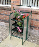 Polycarbonate Mini Greenhouse Green