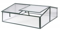 Polycarbonate Safety cold frame Old Cottage Green