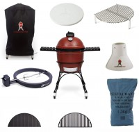 "KJ23RH Classic Joe Grill, 18"", Red Professional package"
