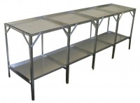 "Removable 22"" wide tray 2 Tier 12ft"