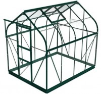 Sherwood 6'x8' Green Greenhouse Starter Package