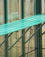 "Slatted staging 18"" x 4ft Green"
