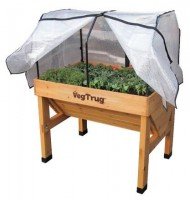 Small 1m Greenhouse Cover and Frame (Veg Trug not included)