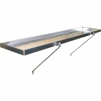 "Tray Shelves 10"" x 5ft (Pair)"