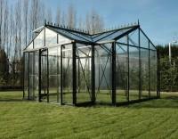"""Victorian Orangerie 12'7"""" x 15'7"""" Black"""