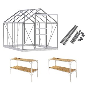 simplicity classic 6x8 greenhouse package