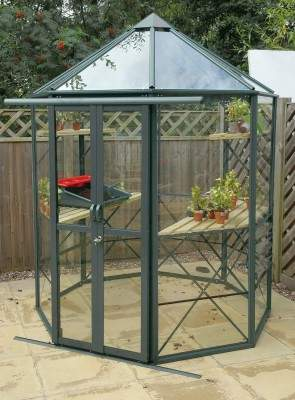 Octagonal 6x6 Old Cottage Green
