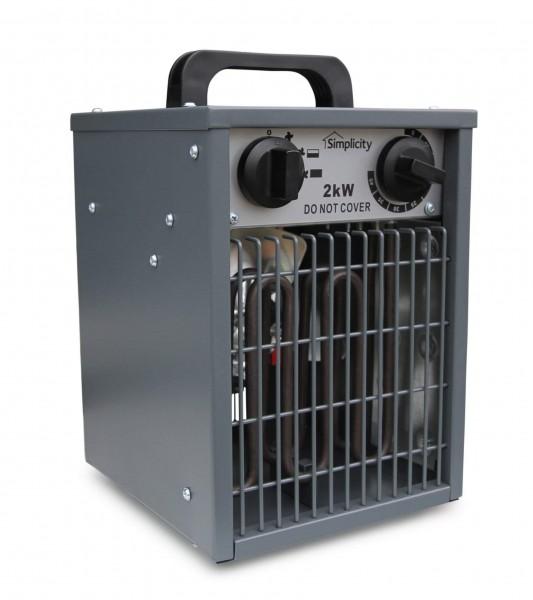 cost of 2kw fan heater