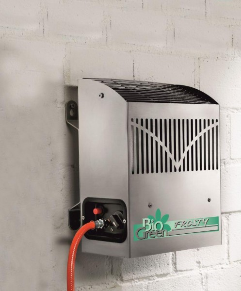 Bio Green Frosty 2 5kw 2500 Gas Powered Greenhouse Heater