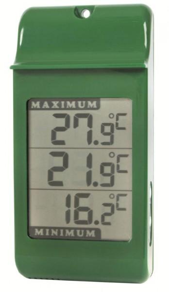 simplicity digital max min green thermometer. Black Bedroom Furniture Sets. Home Design Ideas