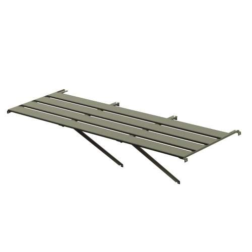 "4 slat (25"") wide Aluminium Staging (Moss)"