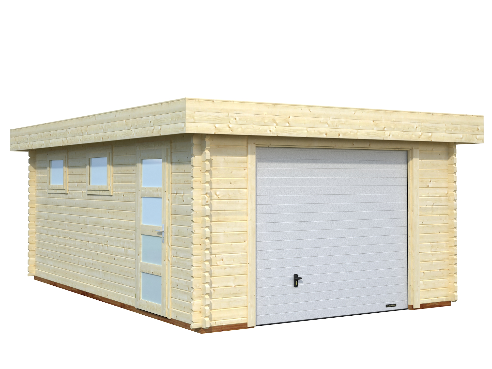 1500 #684A2A Rasmus Garages image Wooden Sectional Garage Doors 36432000